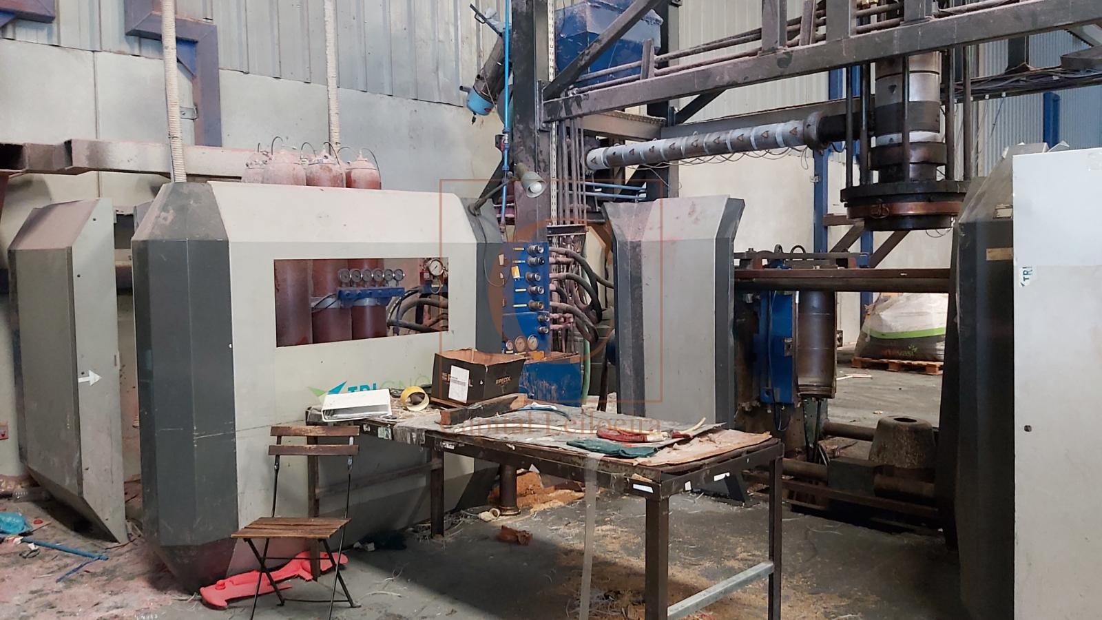Lote 2 | Máquinas Industriais e Equipamentos | Indústria de Plásticos